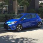 2018 Toyota Yaris: A Little Blue Firecracker